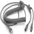CBA-K06-C12PAR - Cable de teclado Zebra PS / 2