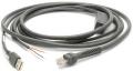 CBA-U08-C15ZAR - Cable Zebra USB Power Plus